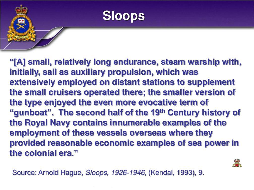 Sloops