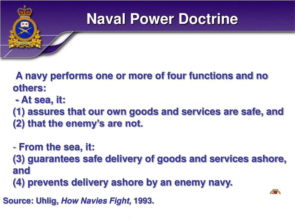 Naval Power Doctrine