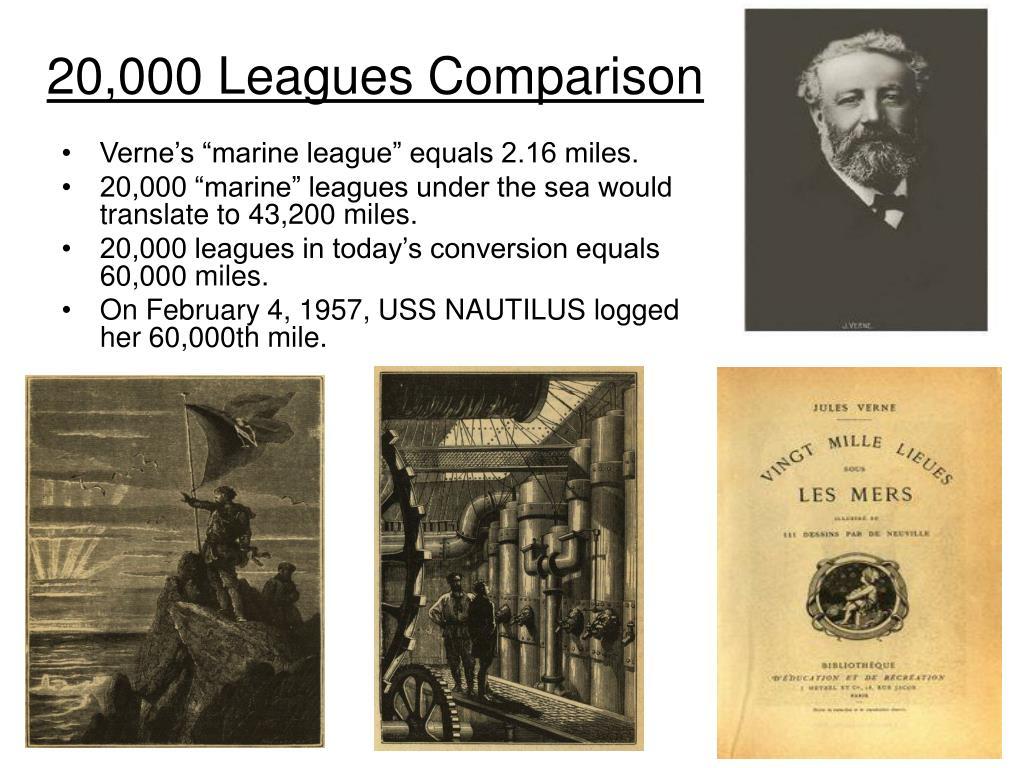 20,000 Leagues Comparison