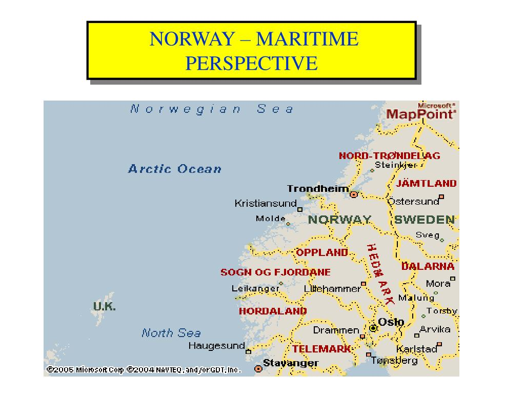 NORWAY – MARITIME PERSPECTIVE