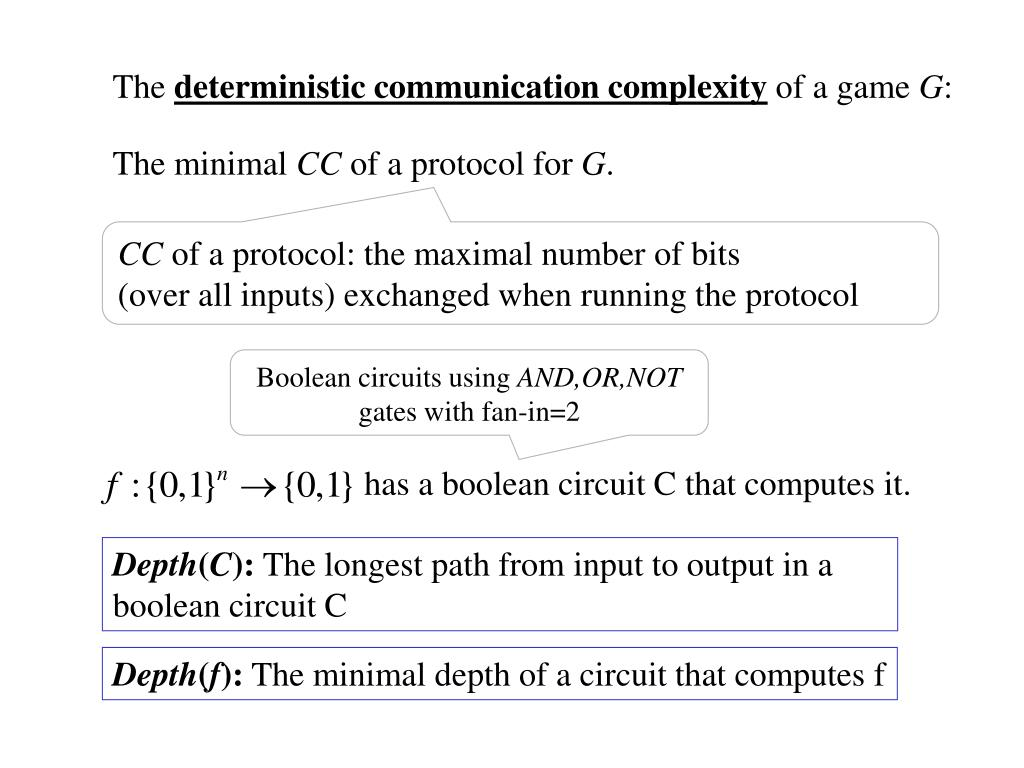 has a boolean circuit C that computes it.
