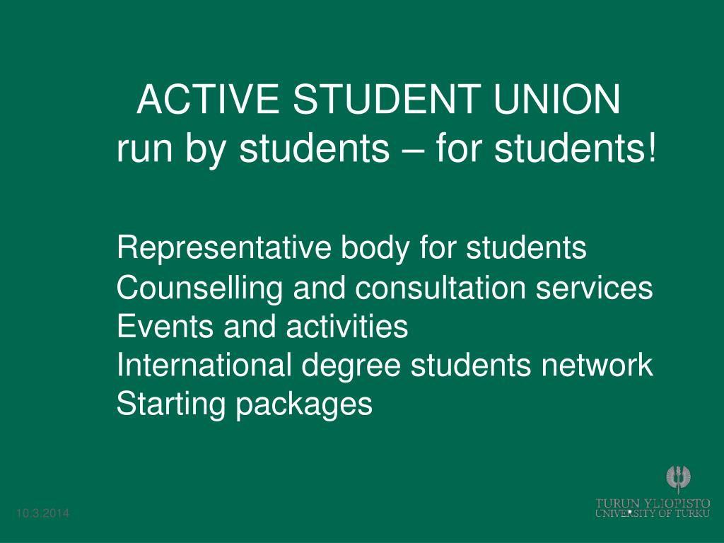 ACTIVE STUDENT UNION