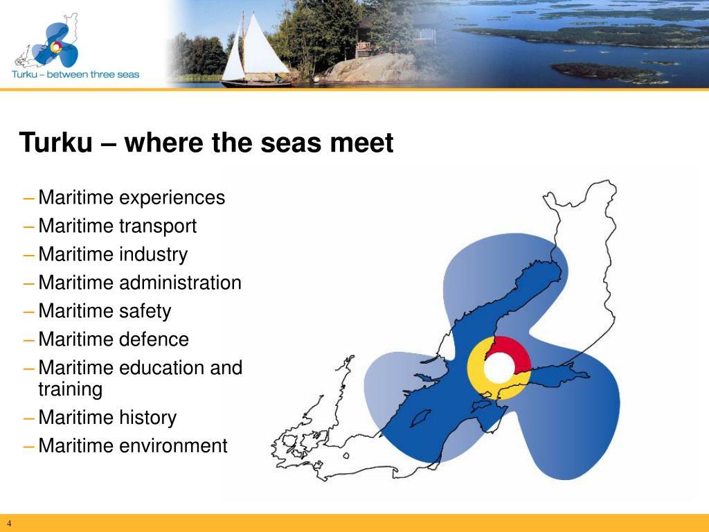 Turku – where the seas meet