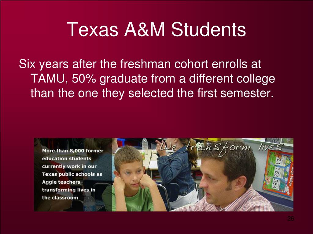 Texas A&M Students