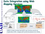 data integration using web mapping services