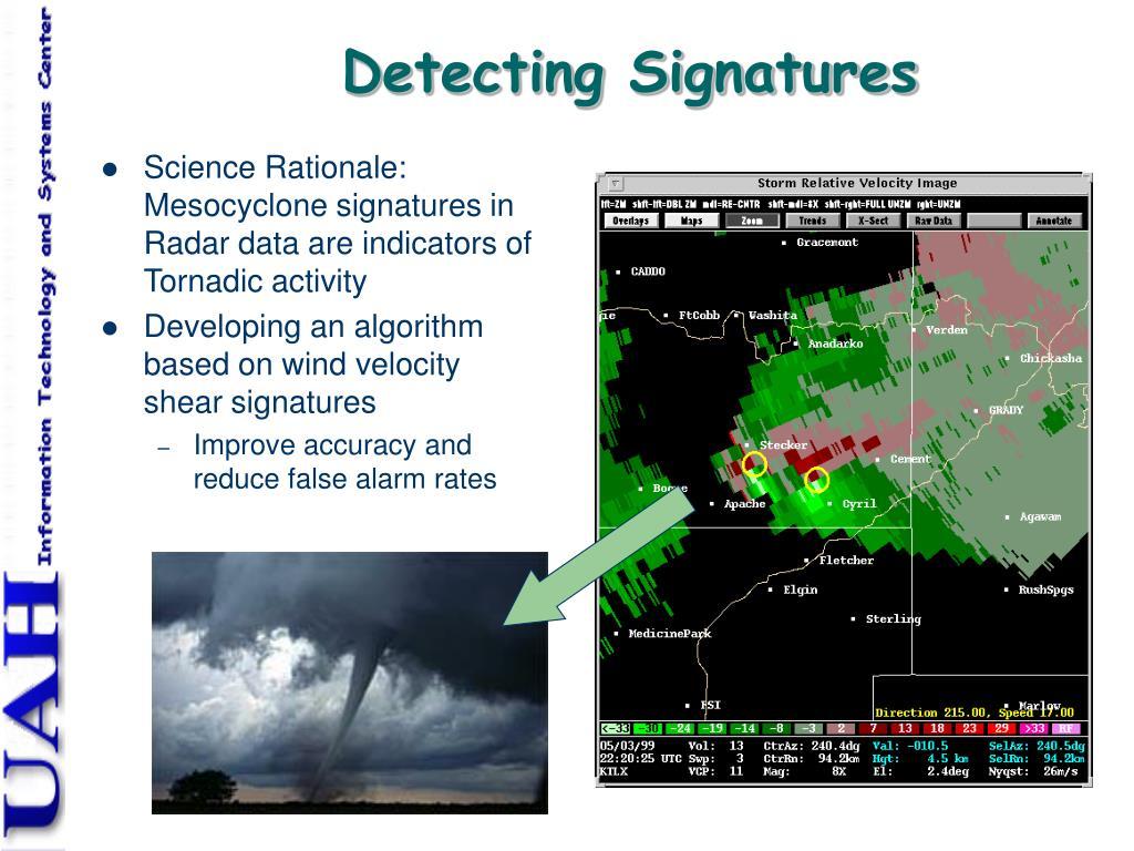 Detecting Signatures