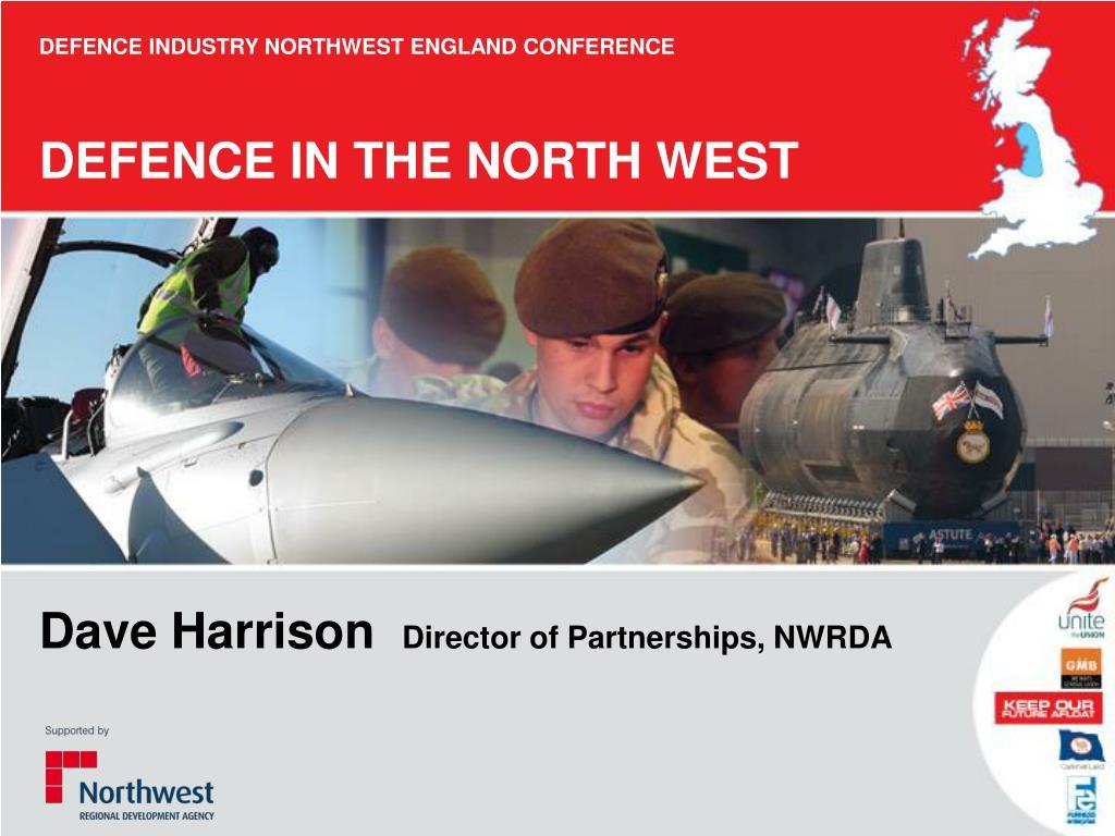 DEFENCE INDUSTRY NORTHWEST ENGLAND CONFERENCE