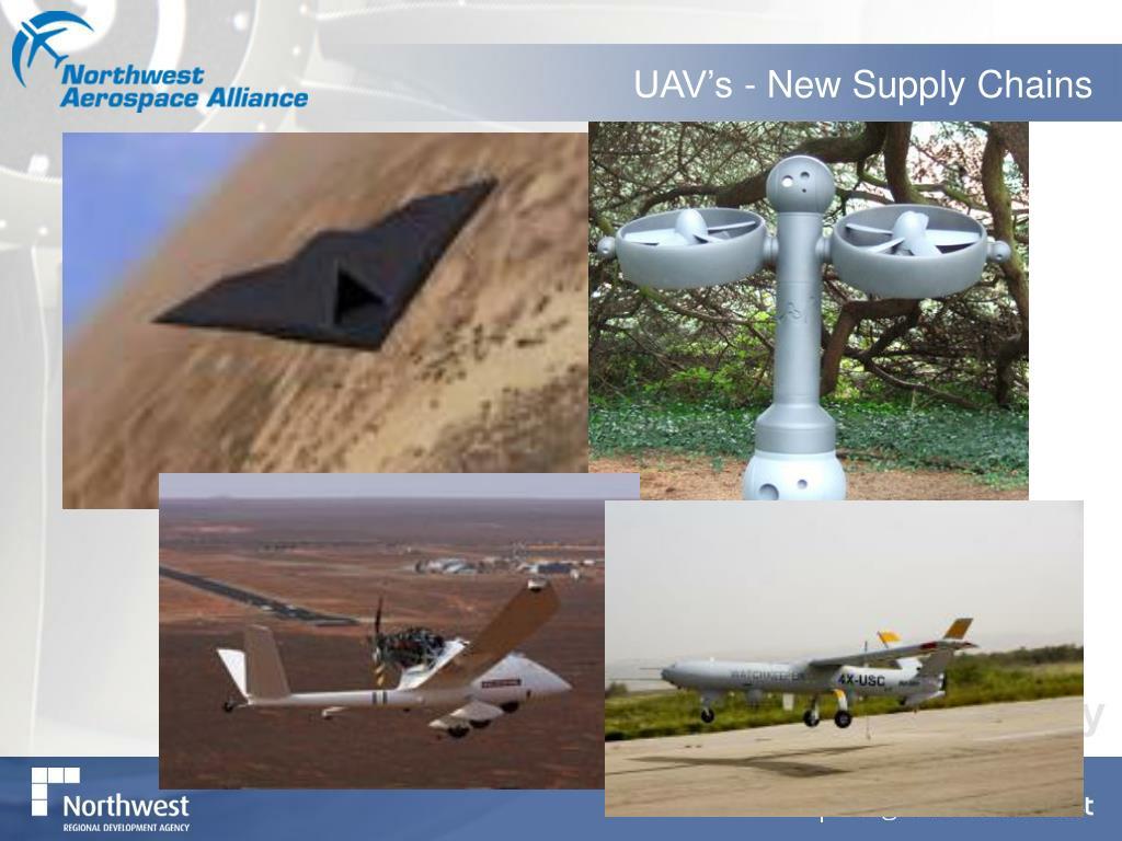 UAV's - New Supply Chains