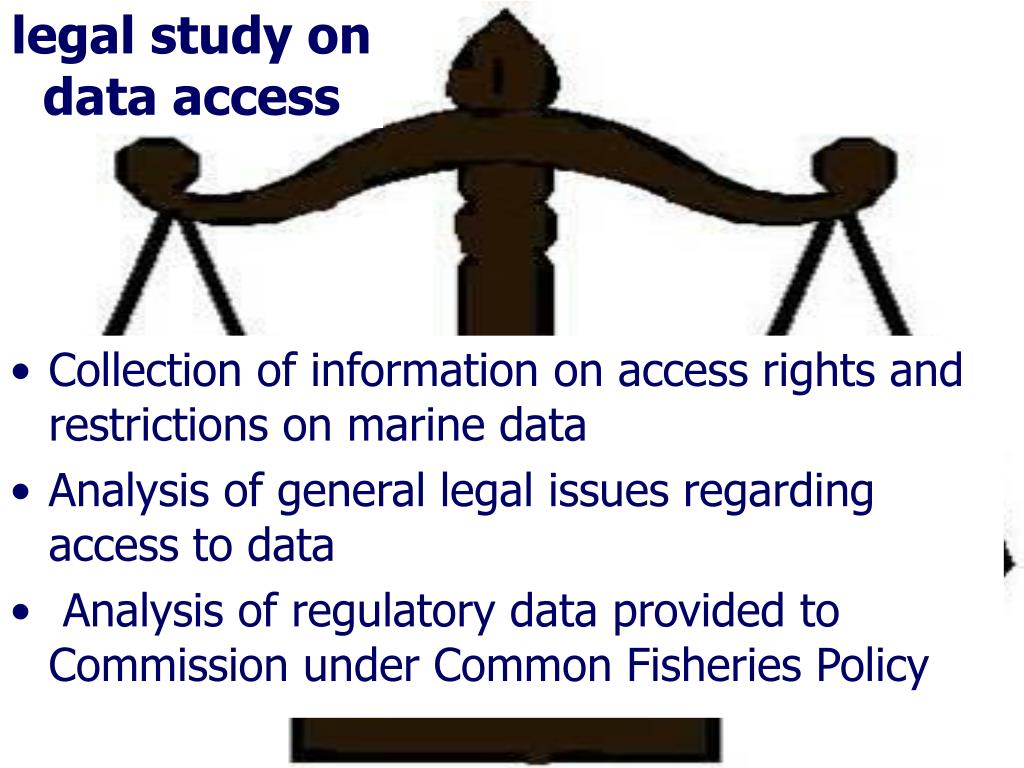 legal study on data access
