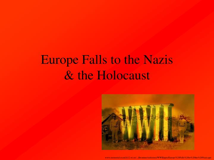 Europe Falls to the Nazis