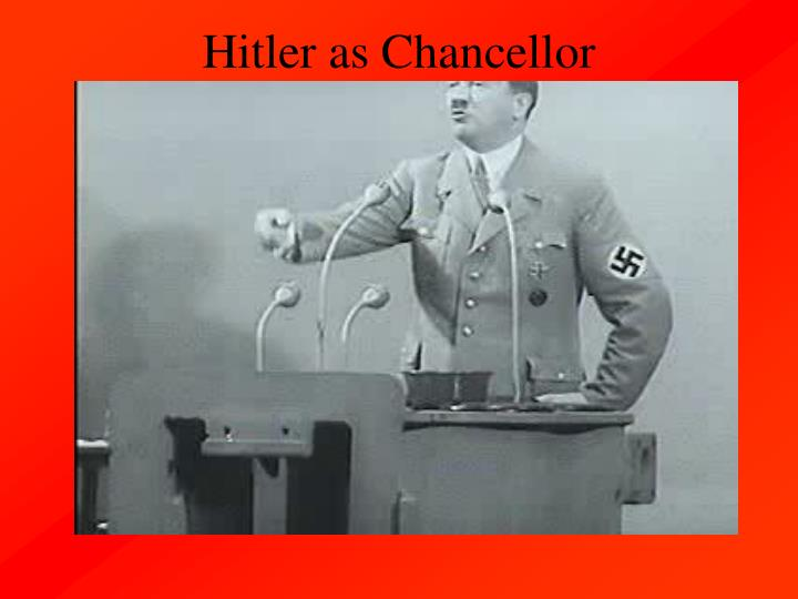 Hitler as Chancellor