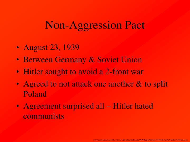 Non-Aggression Pact