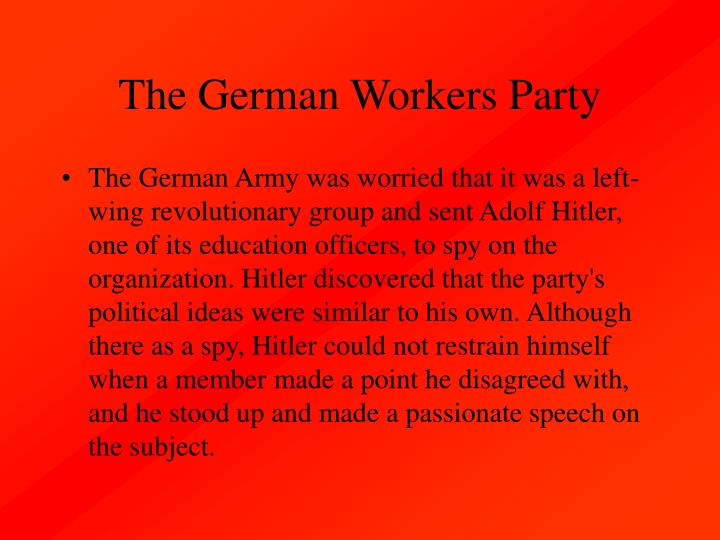 The German Workers Party