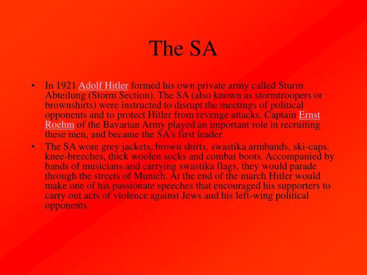 The SA
