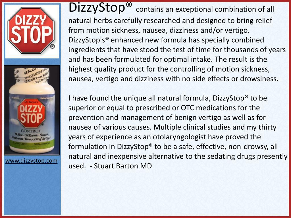 DizzyStop®