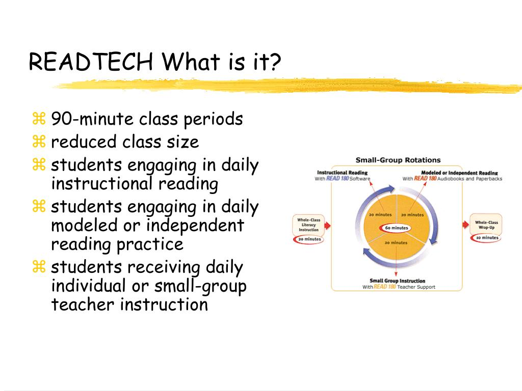 READTECH What is it?