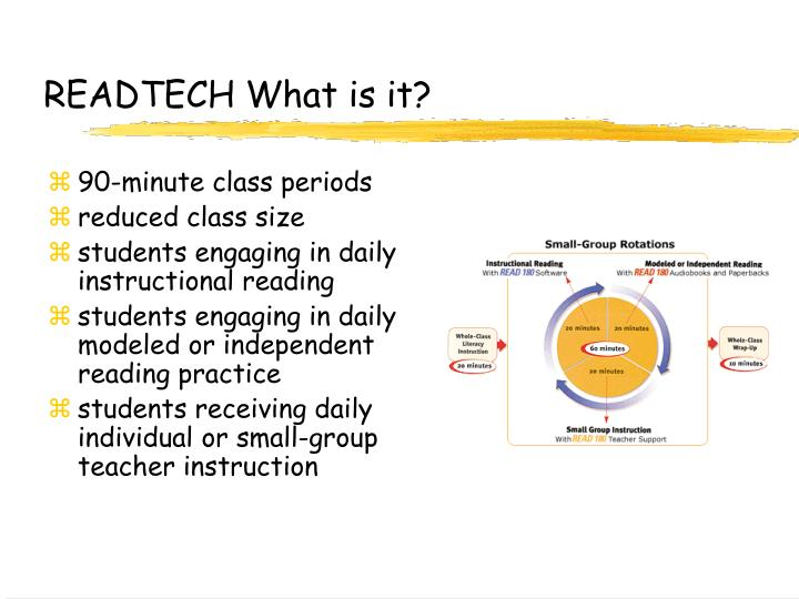 Readtech what is it
