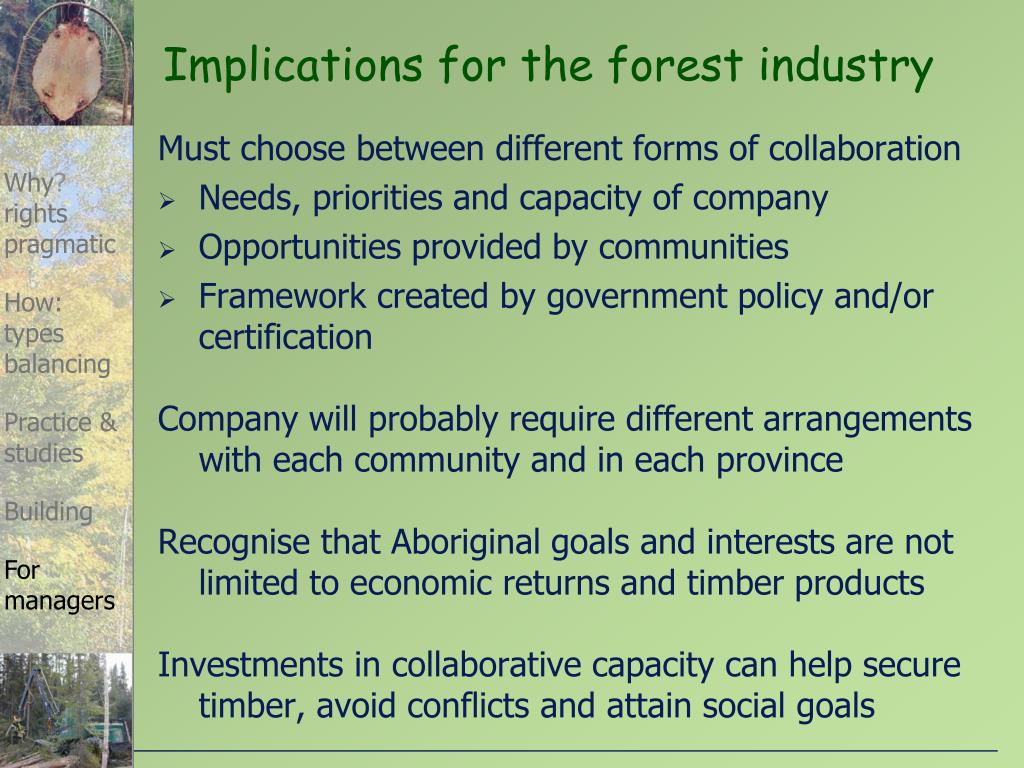 Must choose between different forms of collaboration
