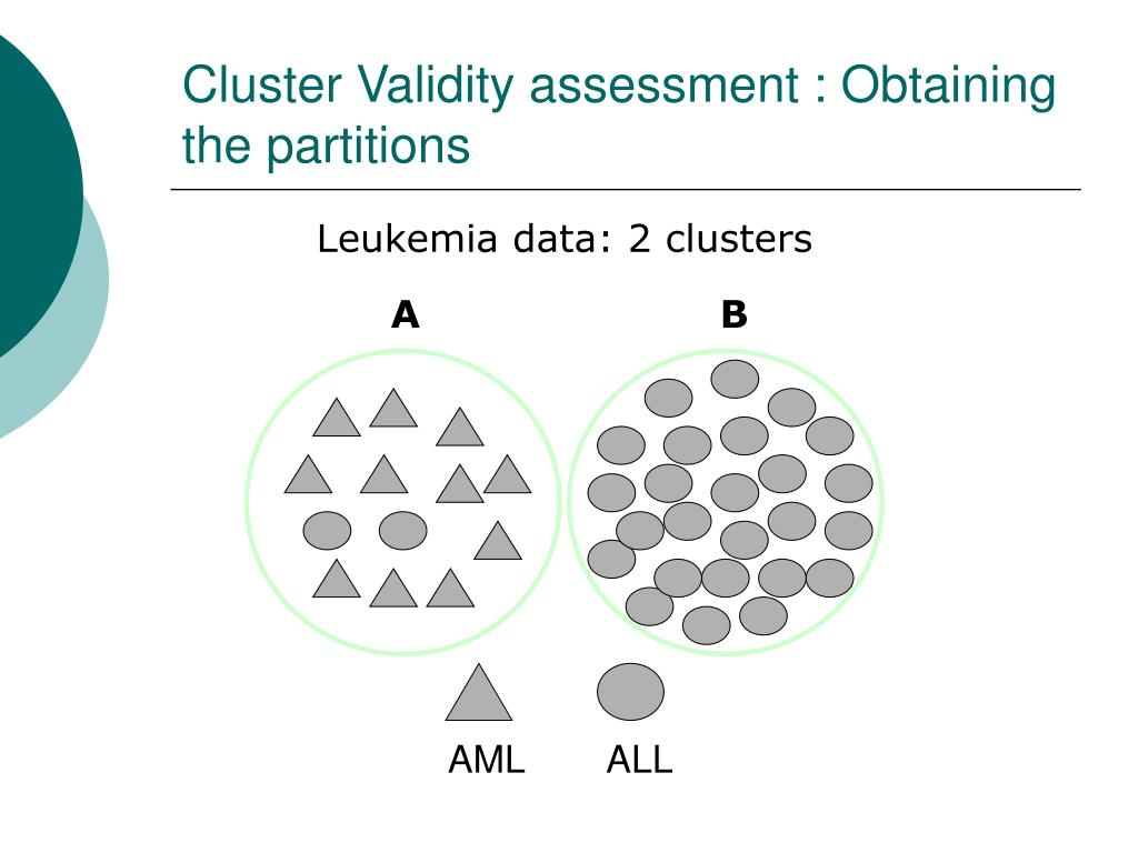 Cluster Validity assessment :