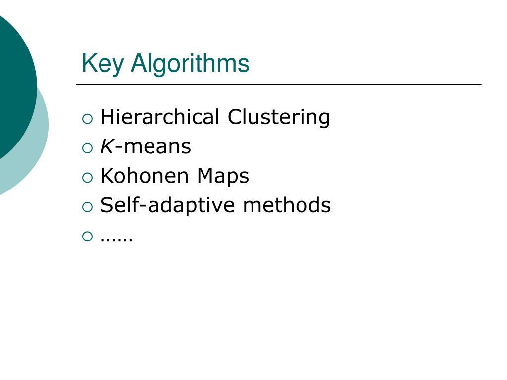 Key Algorithms