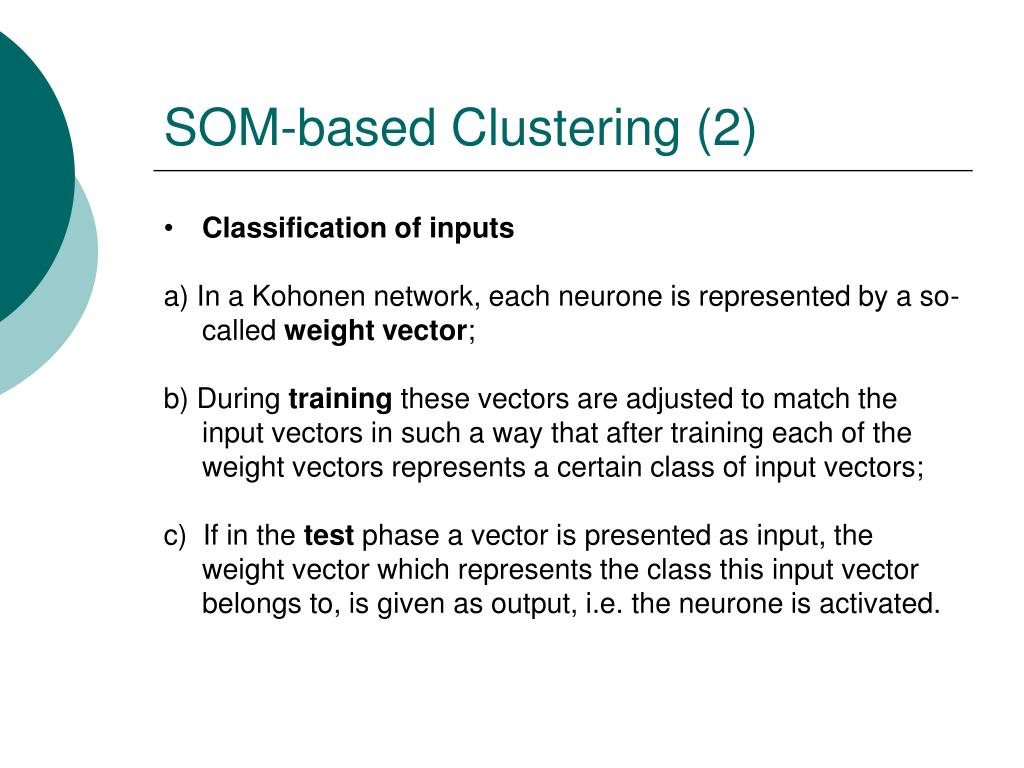 SOM-based Clustering (2)
