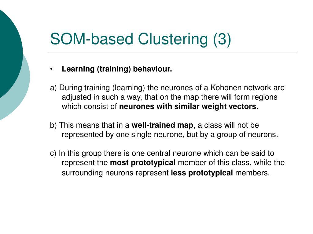 SOM-based Clustering (3)