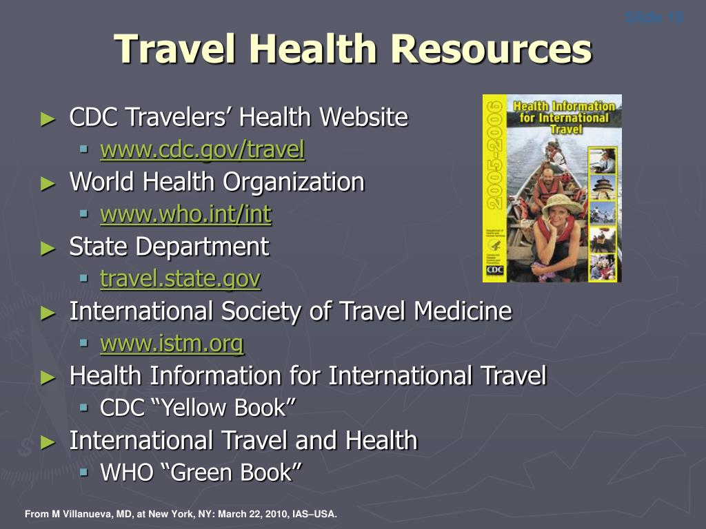 Travel Health Resources