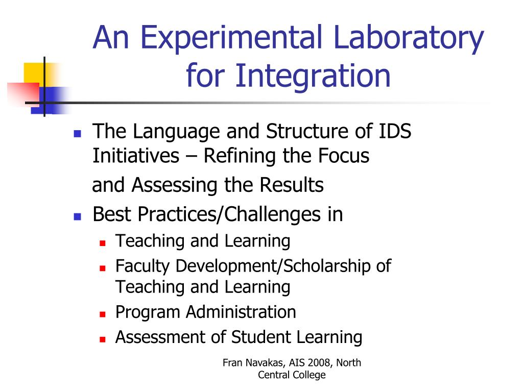 The Language and Structure of IDS Initiatives – Refining the Focus