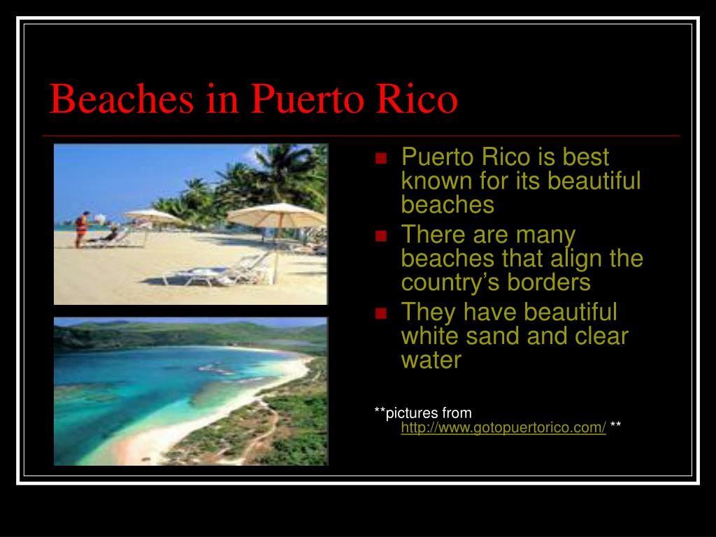 Beaches in Puerto Rico