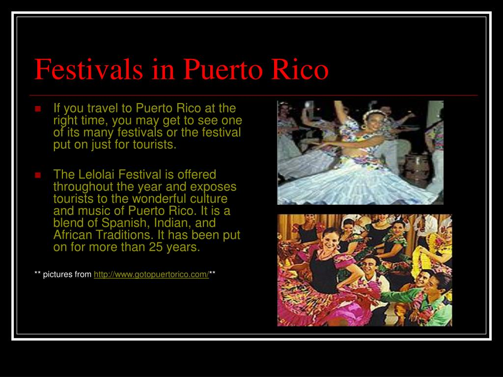 Festivals in Puerto Rico