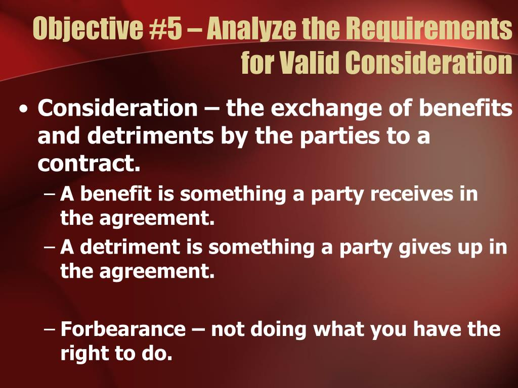 requirements of a valid contract pdf