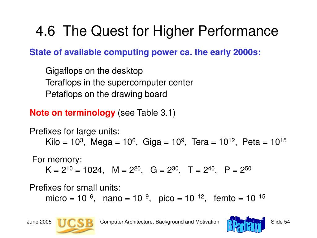 4.6  The Quest for Higher Performance