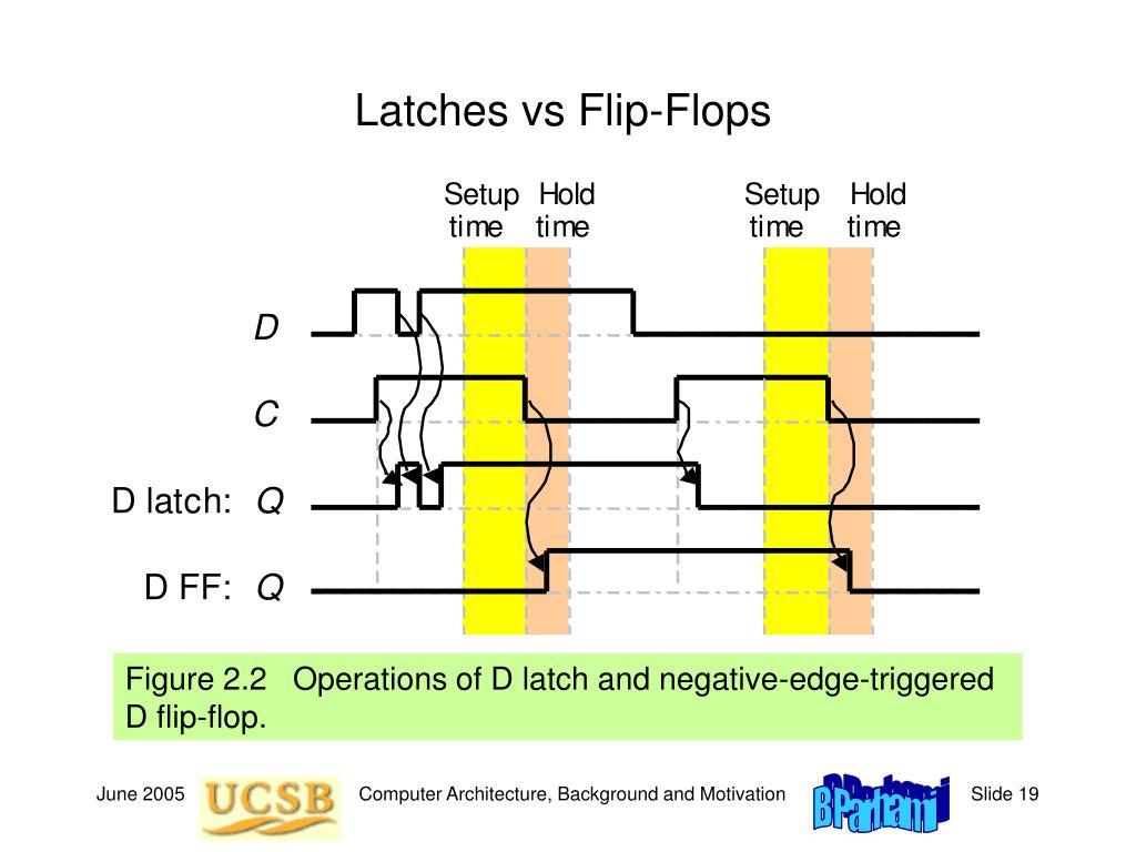 Latches vs Flip-Flops