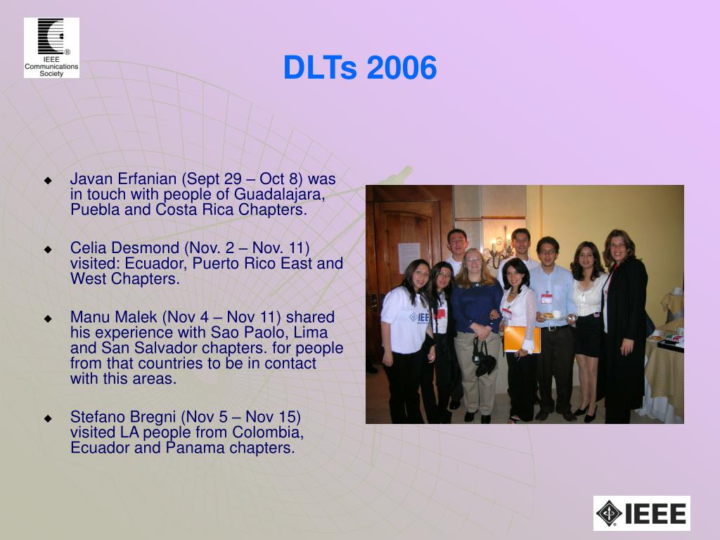 DLTs 2006