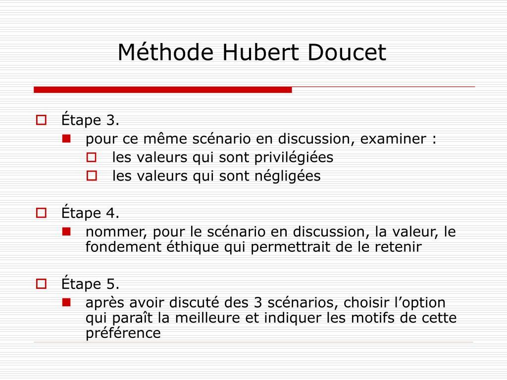 Méthode Hubert Doucet