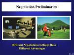 negotiation preliminaries2