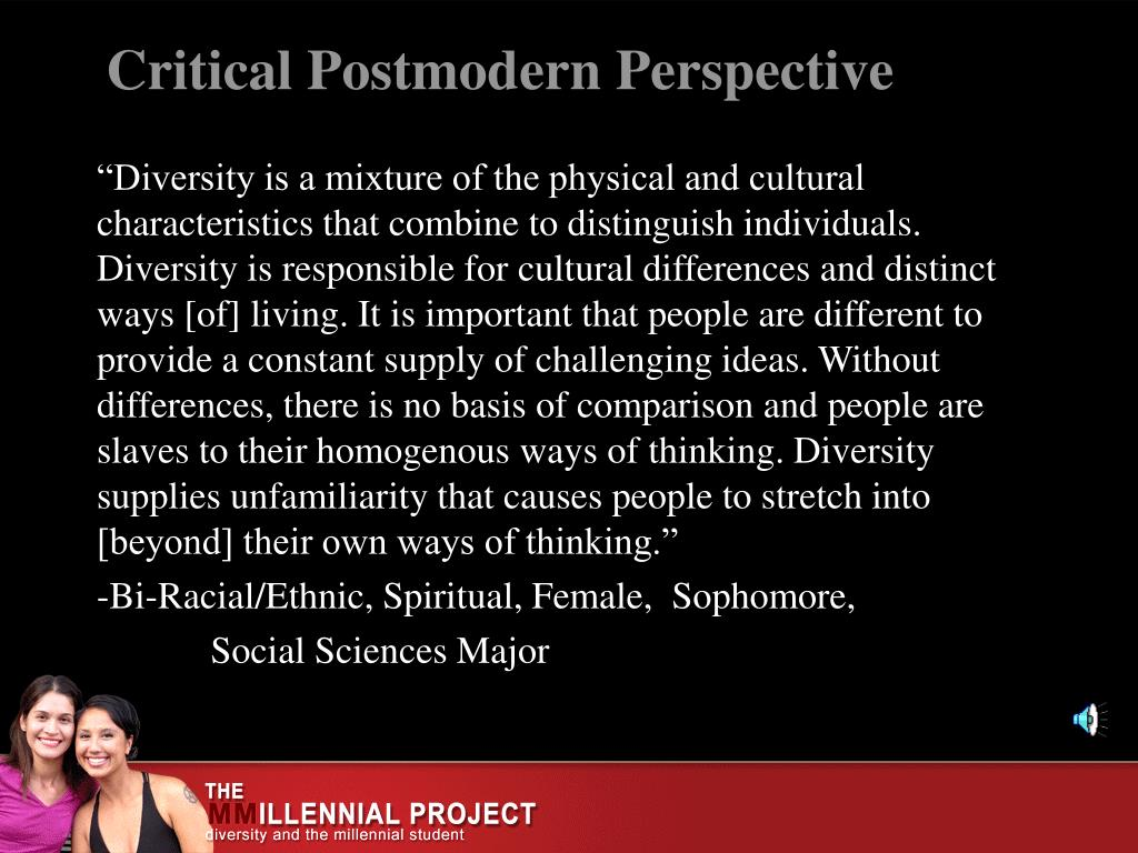 Critical Postmodern Perspective