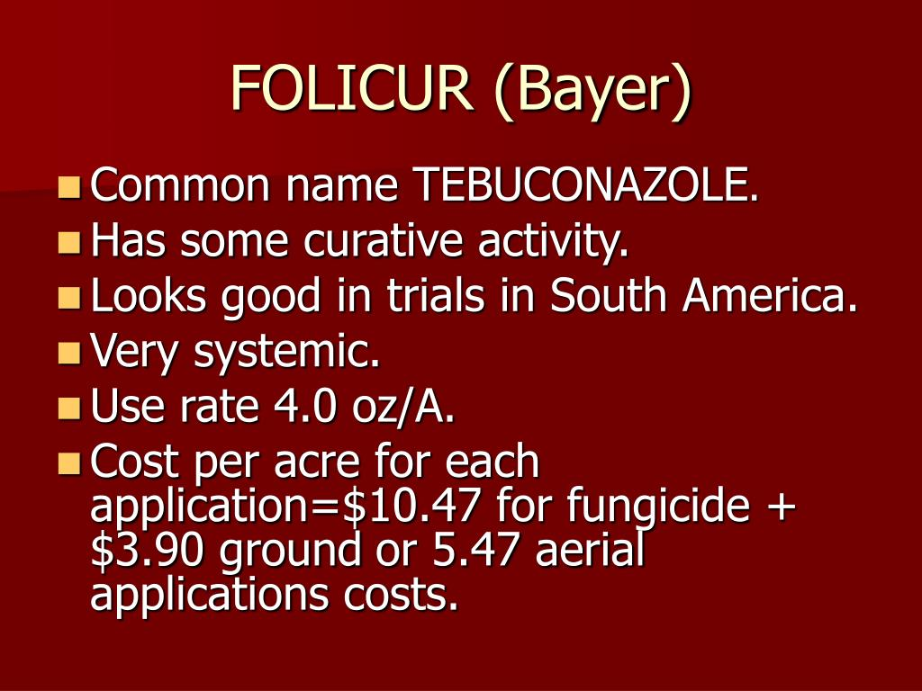 FOLICUR (Bayer)