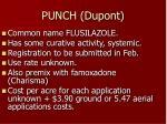 punch dupont