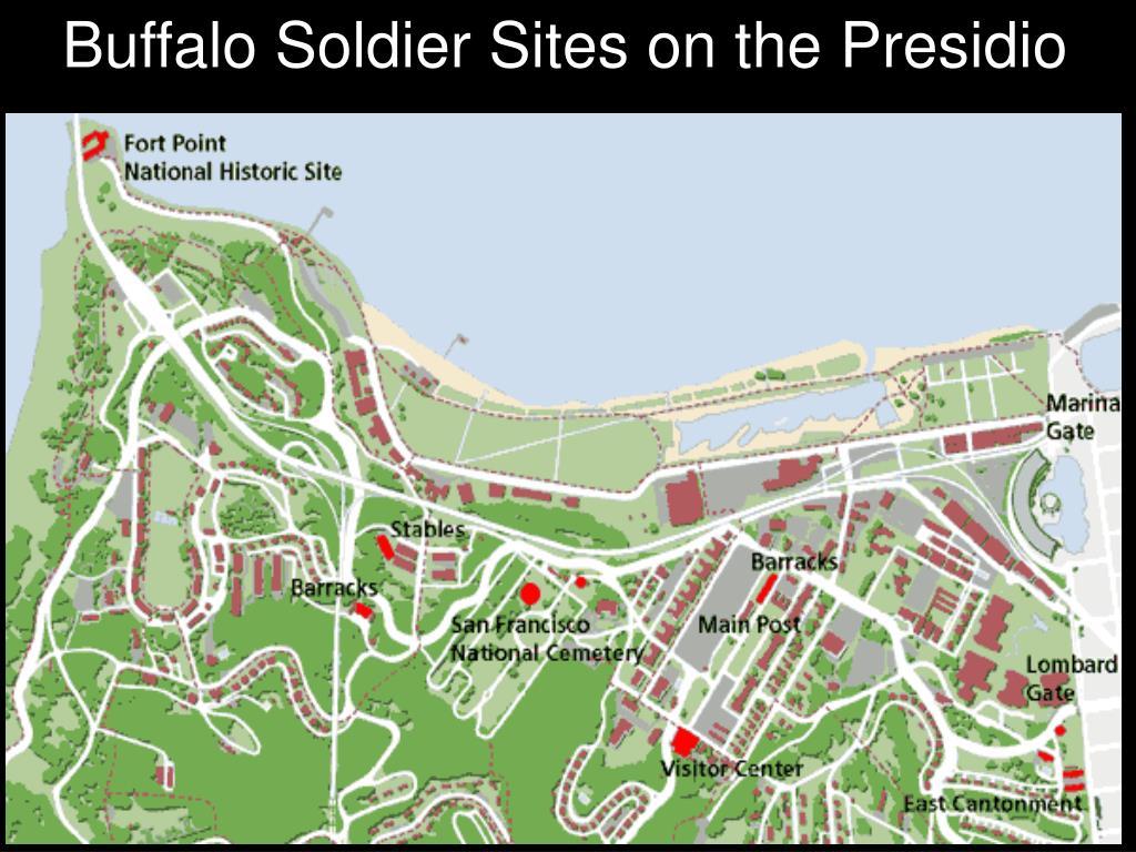 Buffalo Soldier Sites on the Presidio