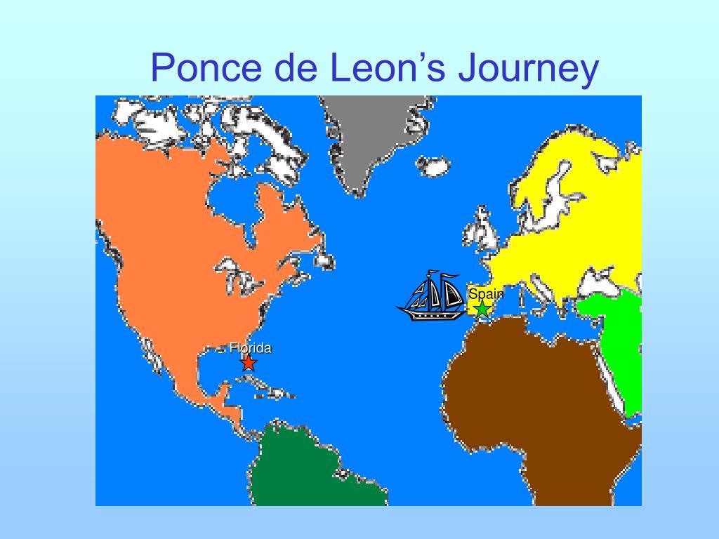 Ponce de Leon's Journey