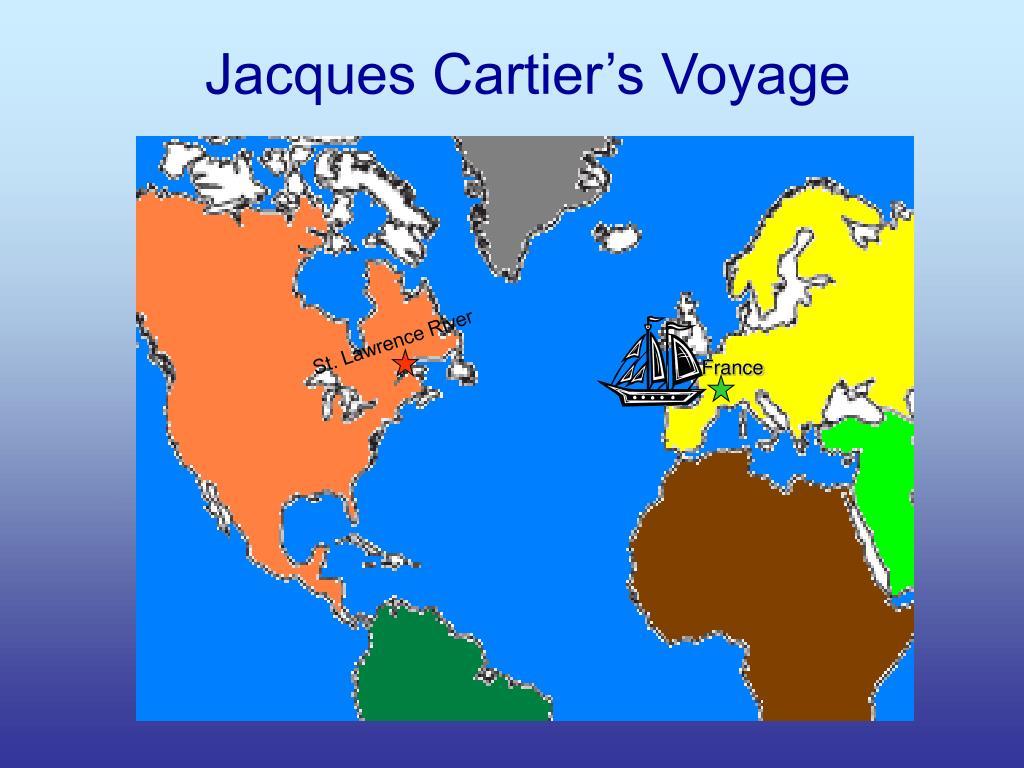 Jacques Cartier's Voyage