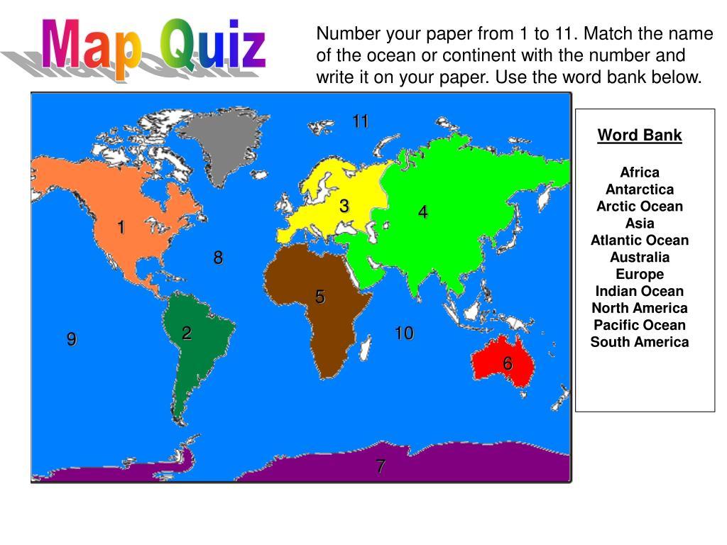 Map Quiz