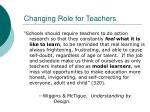 changing role for teachers30