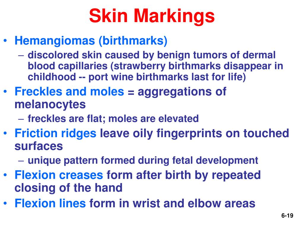 Skin Markings