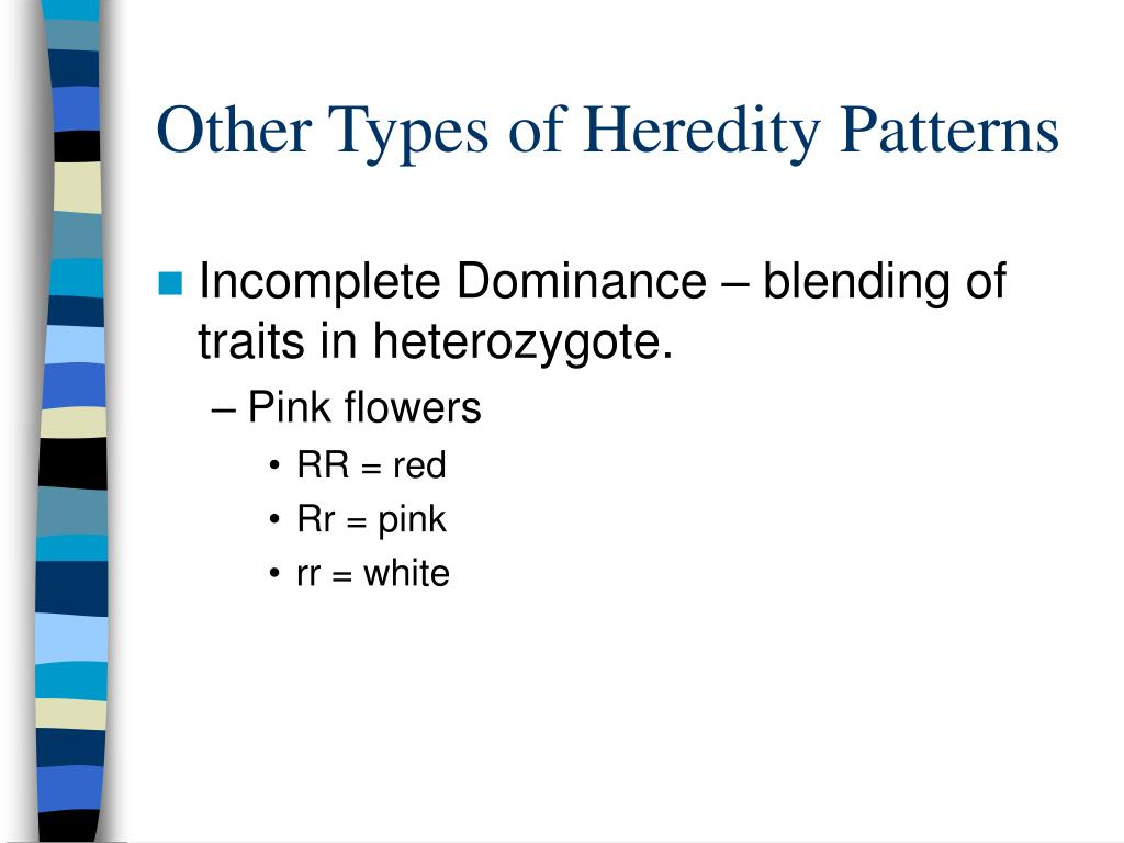Other Types of Heredity Patterns
