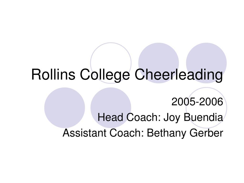 rollins college cheerleading
