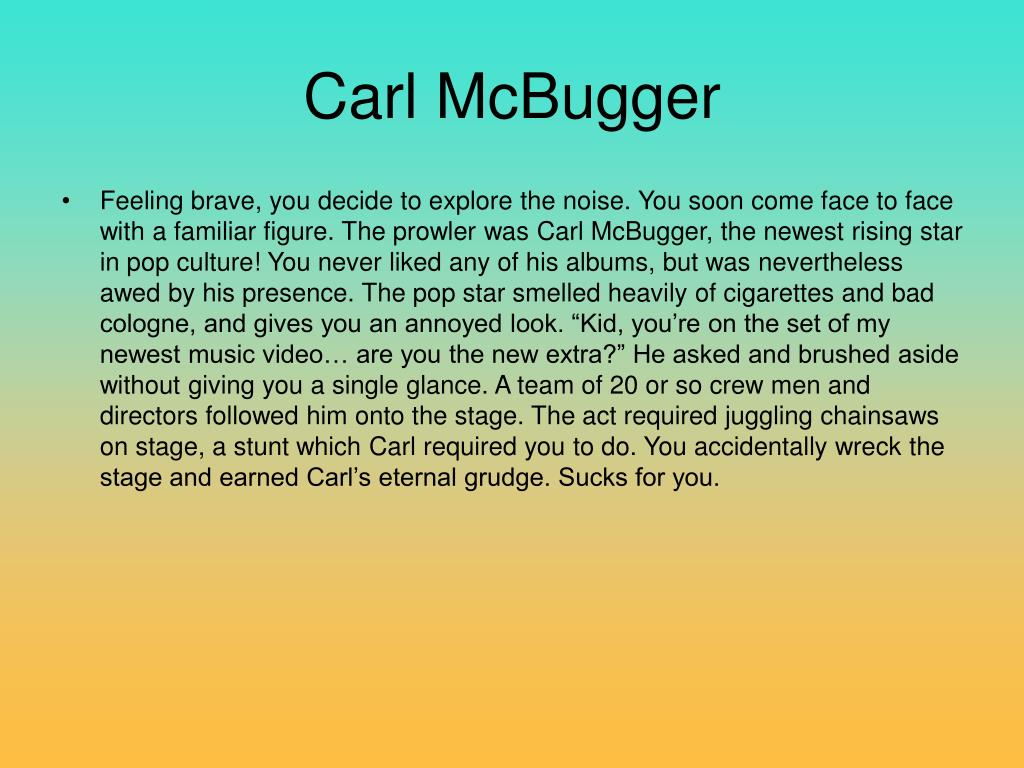 Carl McBugger