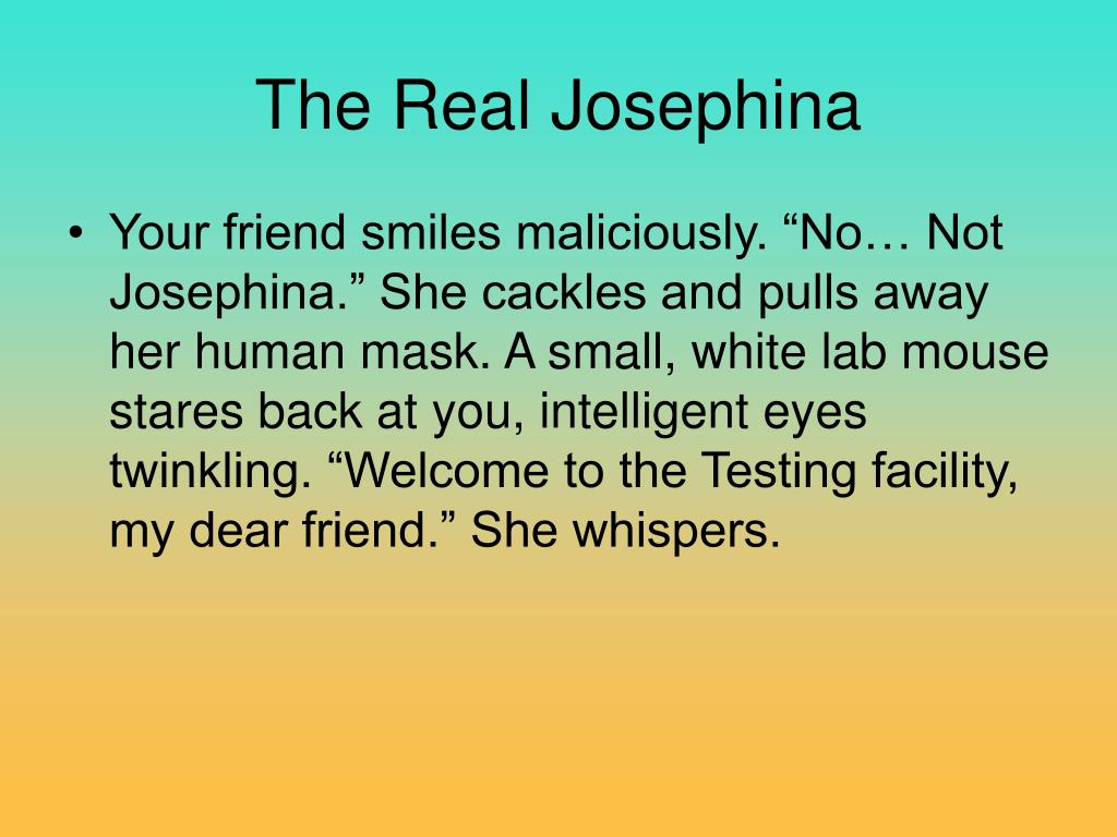 The Real Josephina