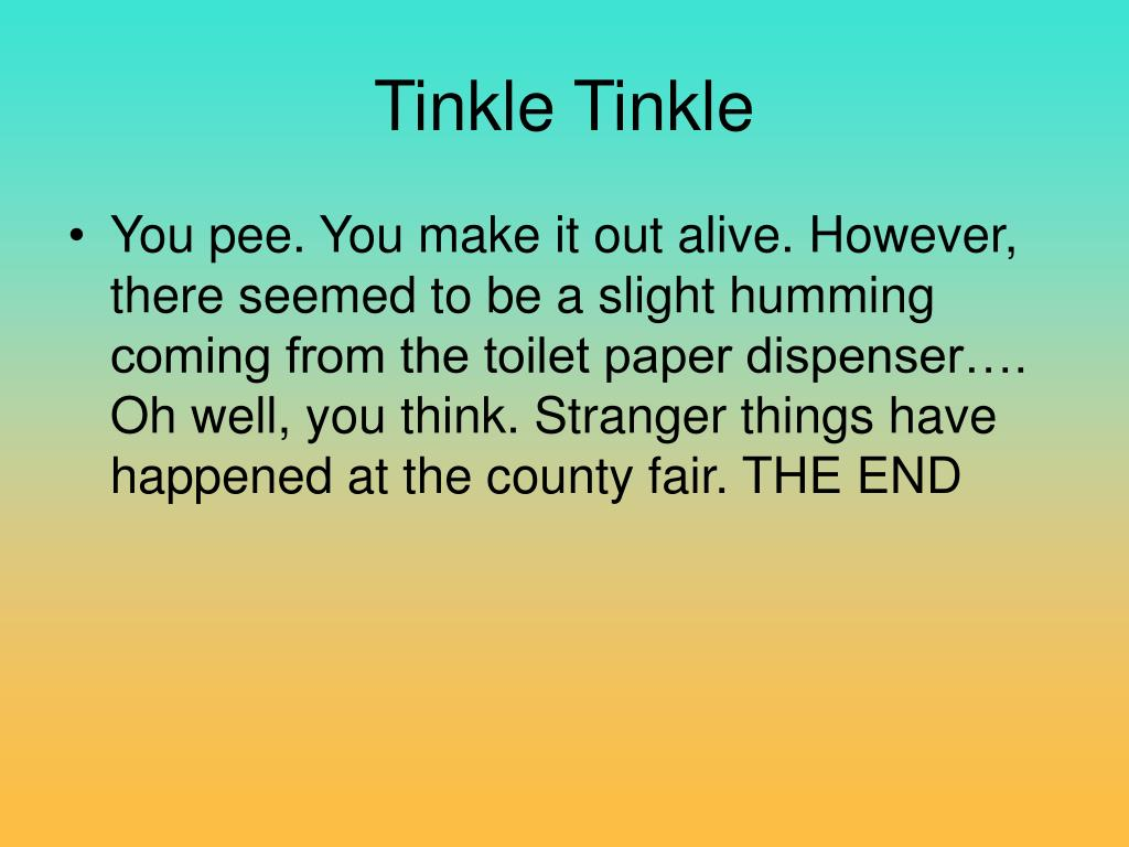 Tinkle Tinkle
